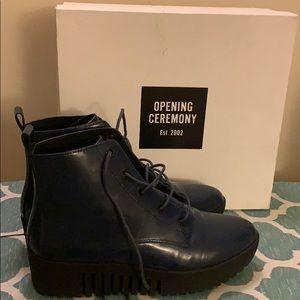 Grunge Platform Boot